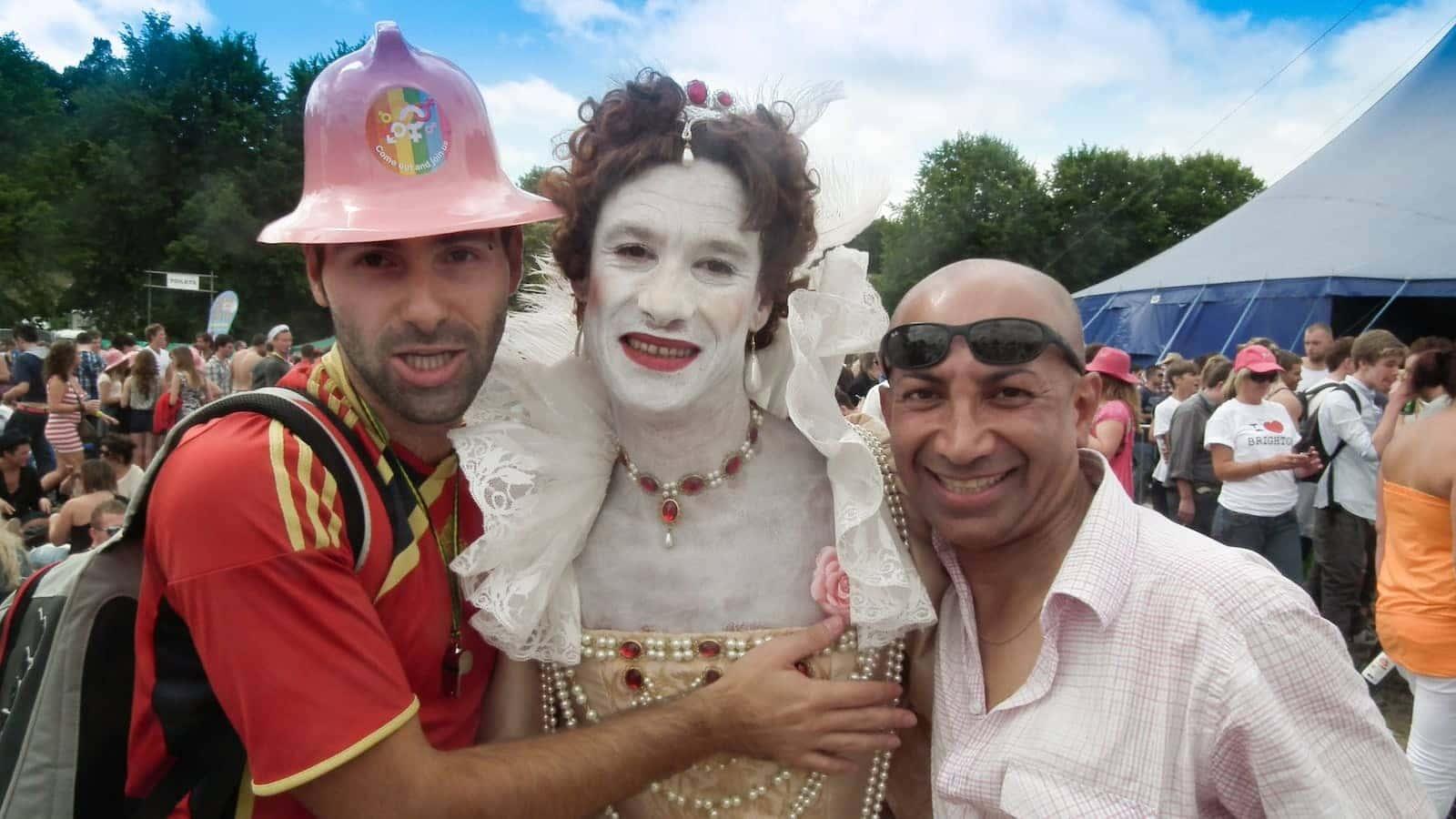 Brighton is a very gay friendly city with a fun Pride parade