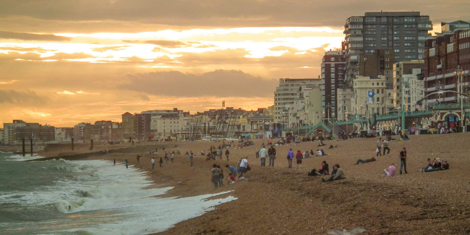 Brighton is one of the most gay friendly cities in Europe