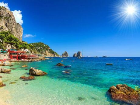 Capri Island is a must-visit for gay travellers to the Amalfi Coast