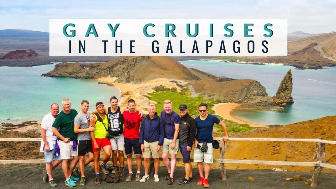The BEST gay cruises in the Galapagos