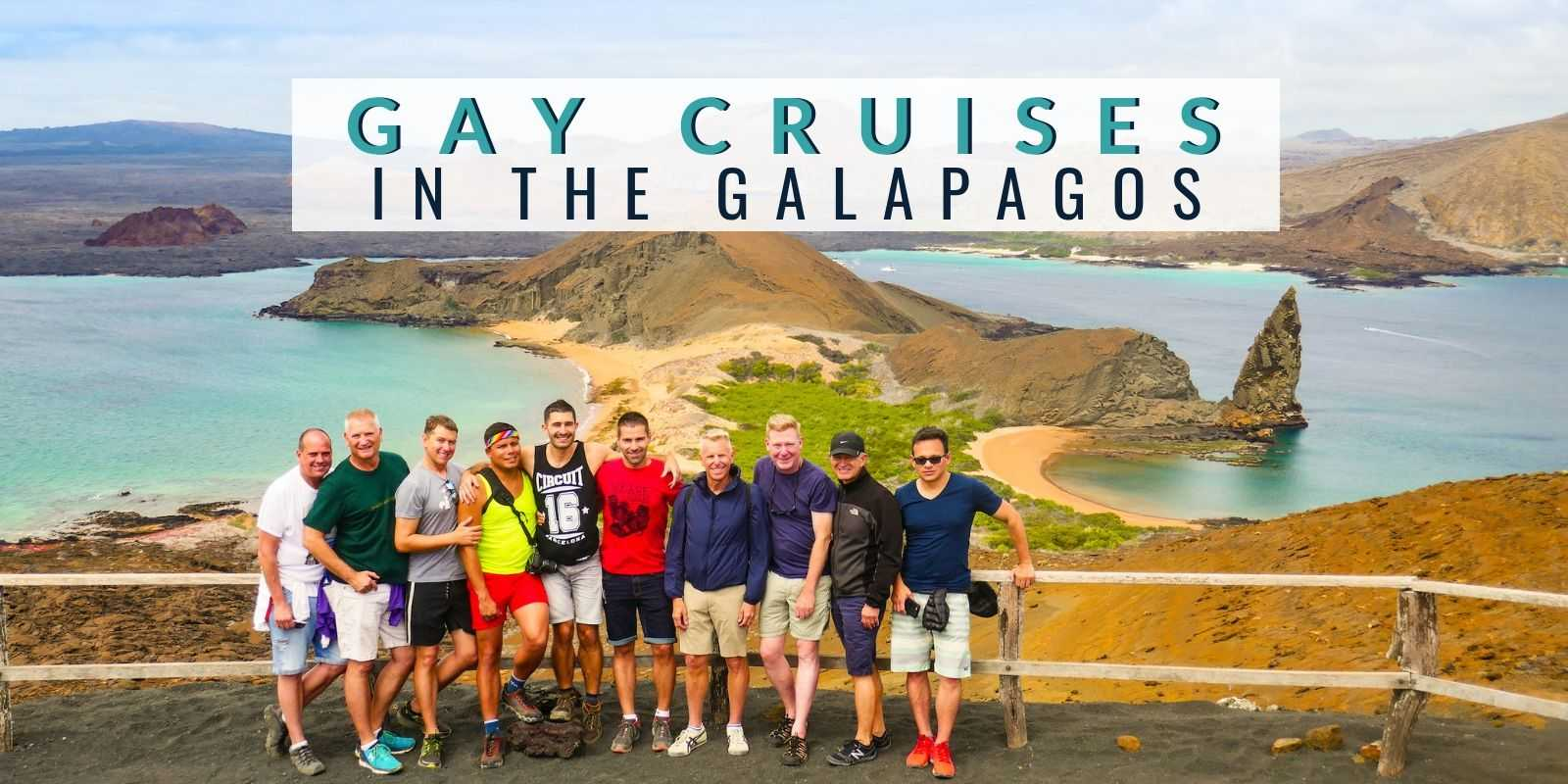 Find out the best gay cruises to explore the Galapagos Islands