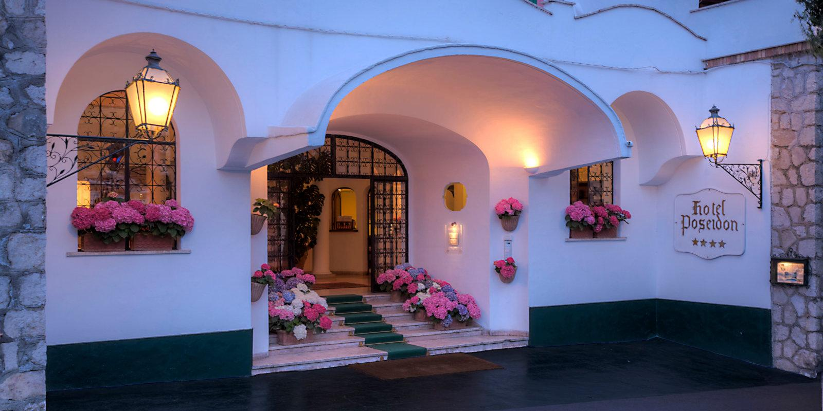 For gay travellers to the Amalfi Coast, Hotel Poseidon is a more affordable option than other hotels in the area, but just as pretty!