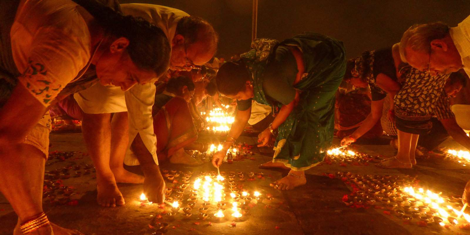 Varanasi is a fascinating holy city in India with many religious events