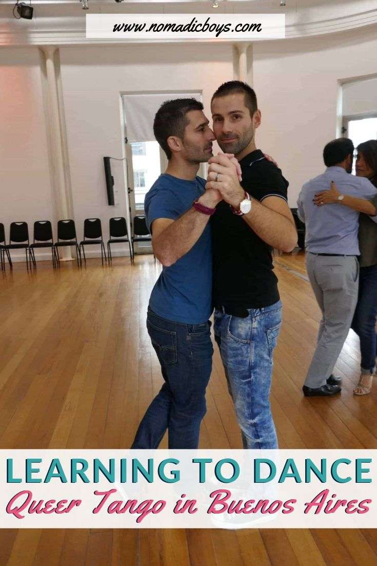 Find out where you can, and what it's like, to learn how to dance Queer Tango in Buenos Aires