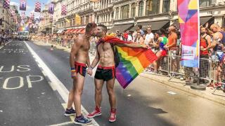 London is a very gay friendly city, especially during Pride