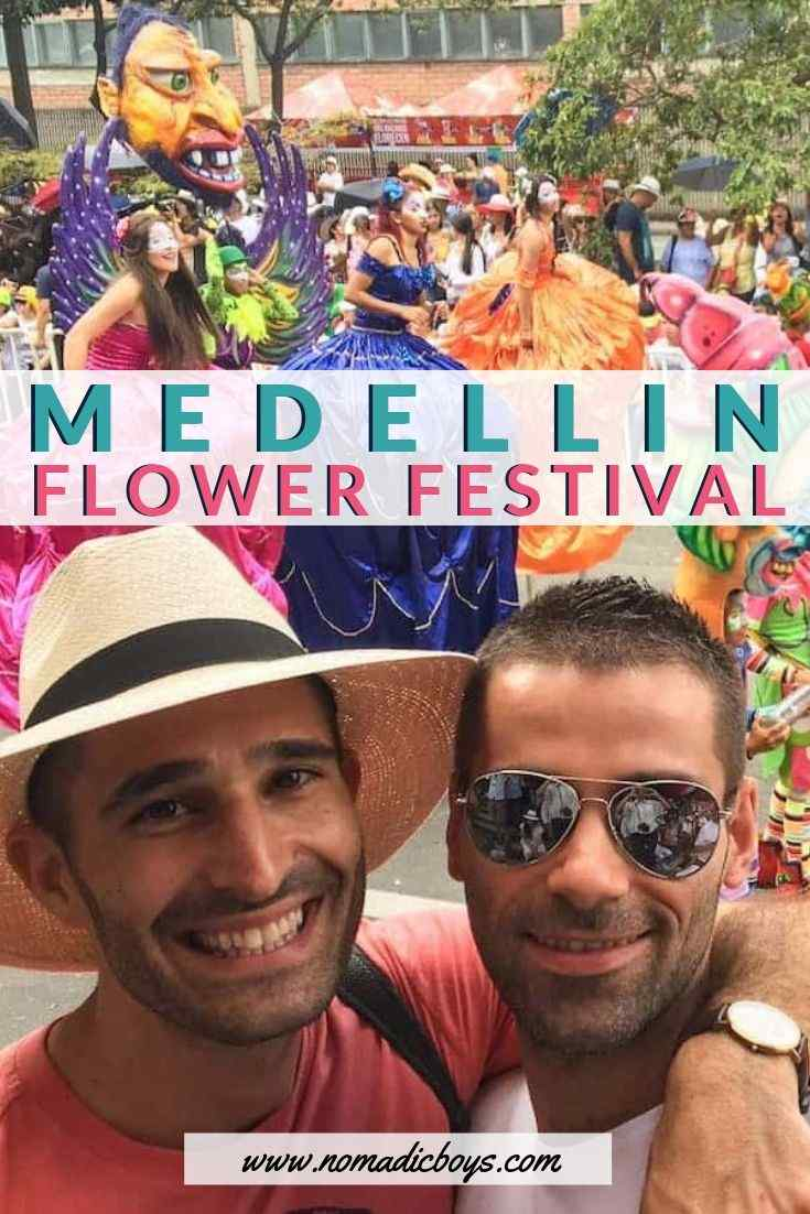 Read our guide to experiencing the Medellin Flower Festival in Colombia as a gay couple