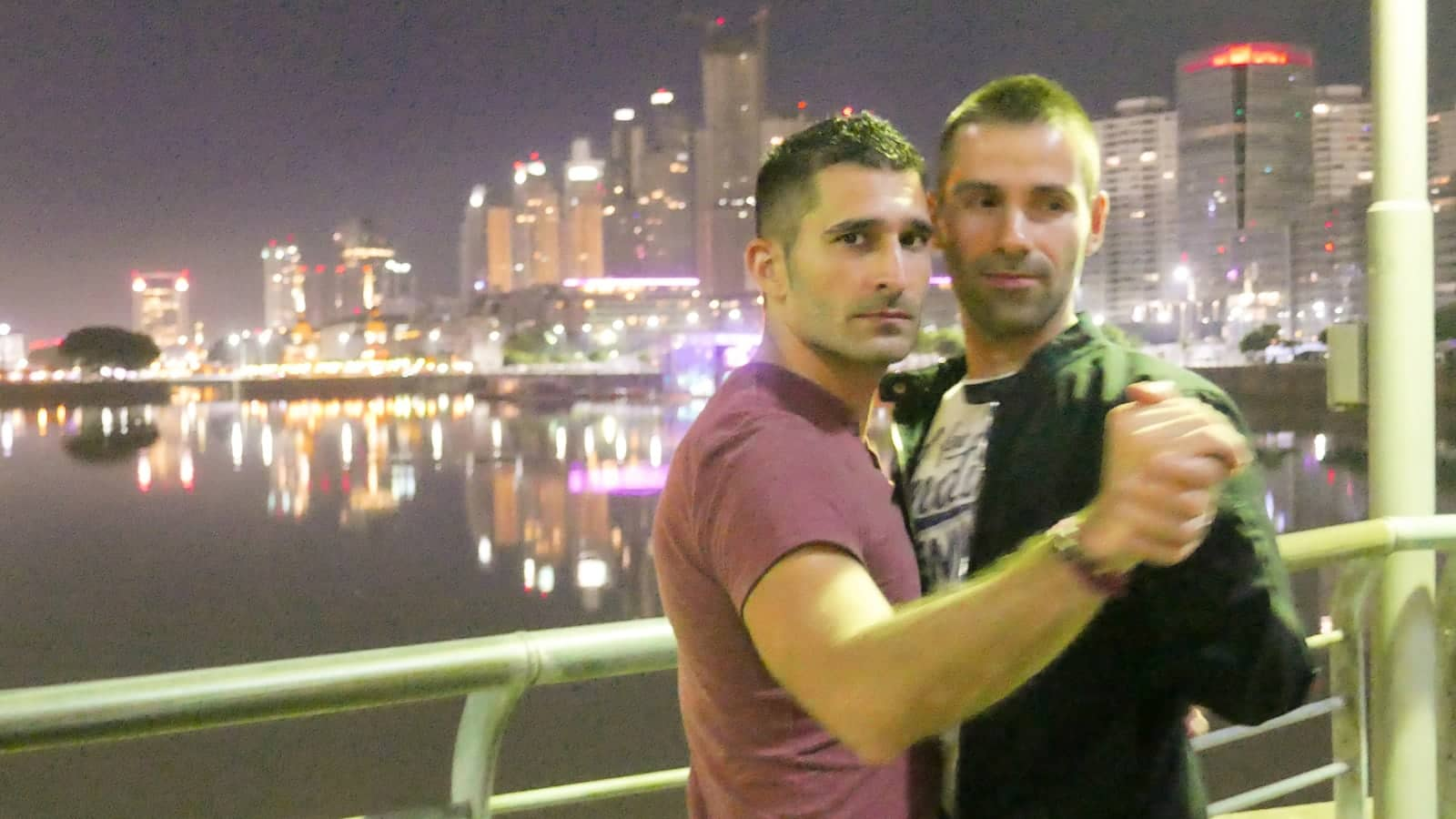 Learning to dance Tango as a gay couple was one our favourite things we did in Buenos Aires