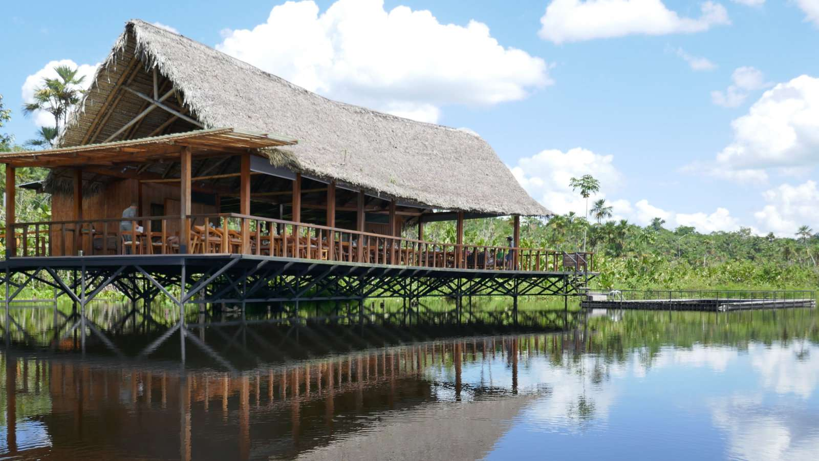 Sacha Lodge in Ecuador is gorgeous gay friendly place to stay if you want to experience the Amazon jungle