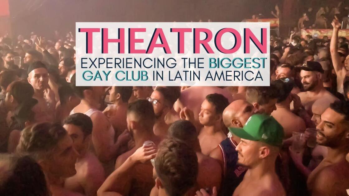 What's it like to party in the biggest gay club in Latin America