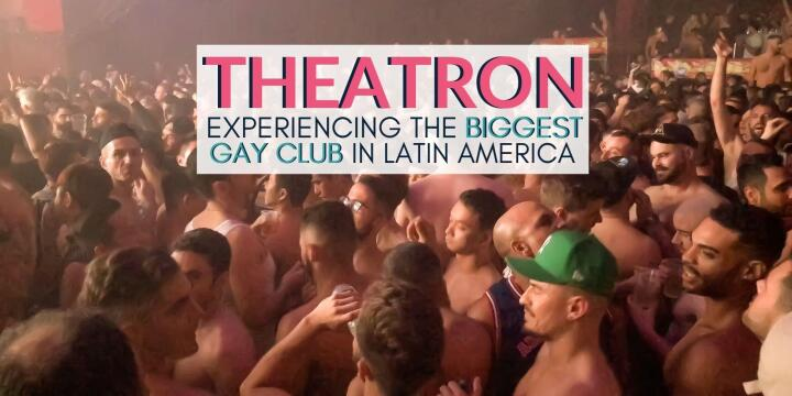 Theatron is a massive gay club in Colombia, the biggest in Latin America and a must-visit for gay travellers!