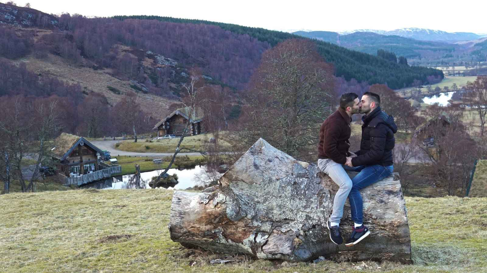 The Scottish Highlands are a beautiful and romantic place for gay travellers to visit