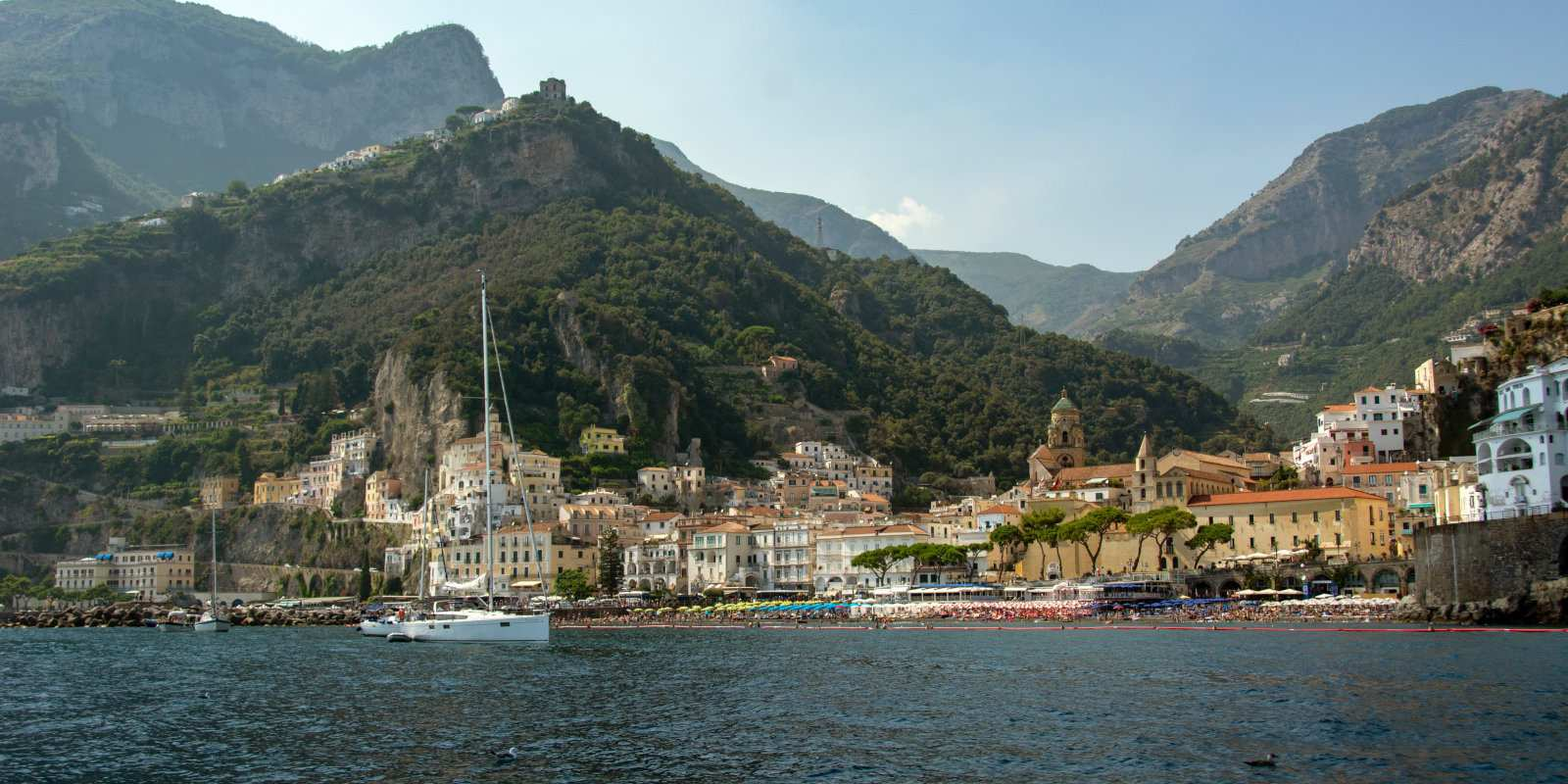 The Amalfi Coast is a beautiful and romantic place to visit for gay travellers