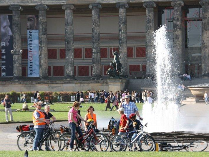 One of the most fun ways to explore Berlin is via a bike tour
