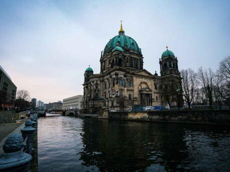 Gay travel to Berlin - make sure you visit the gorgeous Berlin Cathedral