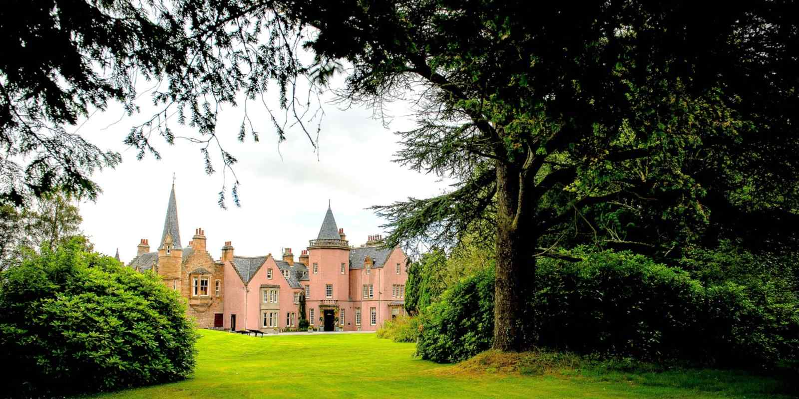 Pretend you're a princess in a castle while staying at the gay friendly Bunchrew House Hotel in Inverness