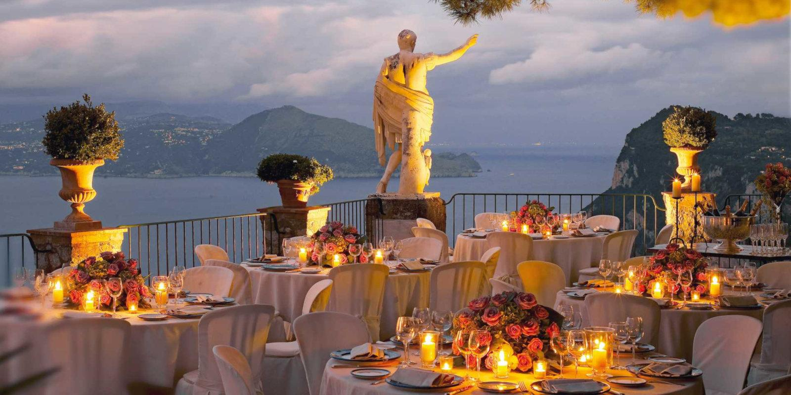 Hotel Caesar Augustus is a stunning and romantic, gay friendly hotel on the island of Capri