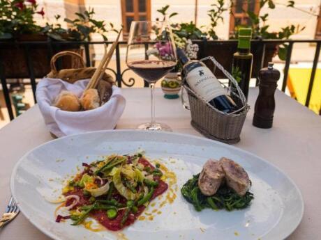 Da Gemma serves delicious rustic Italian food in a charming location in Amalfi