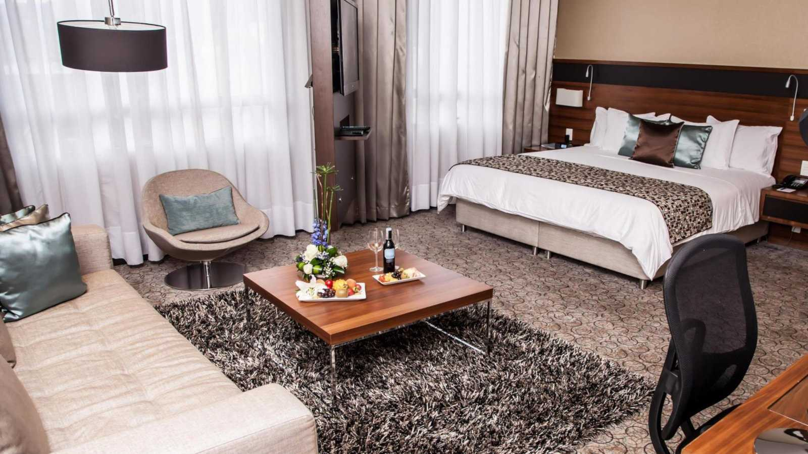 The DoubleTree by Hilton is a gorgeous and gay friendly place to stay in Bogota