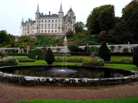Dunrobin Castle is a fairytale location in the Scottish Highlands, one gay travellers will definitely want to visit!