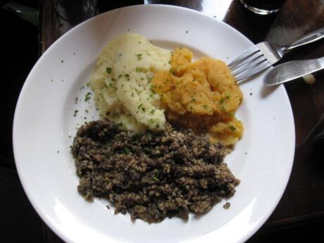 Even if you don't like it, you've got to try haggis at least once when in Scotland