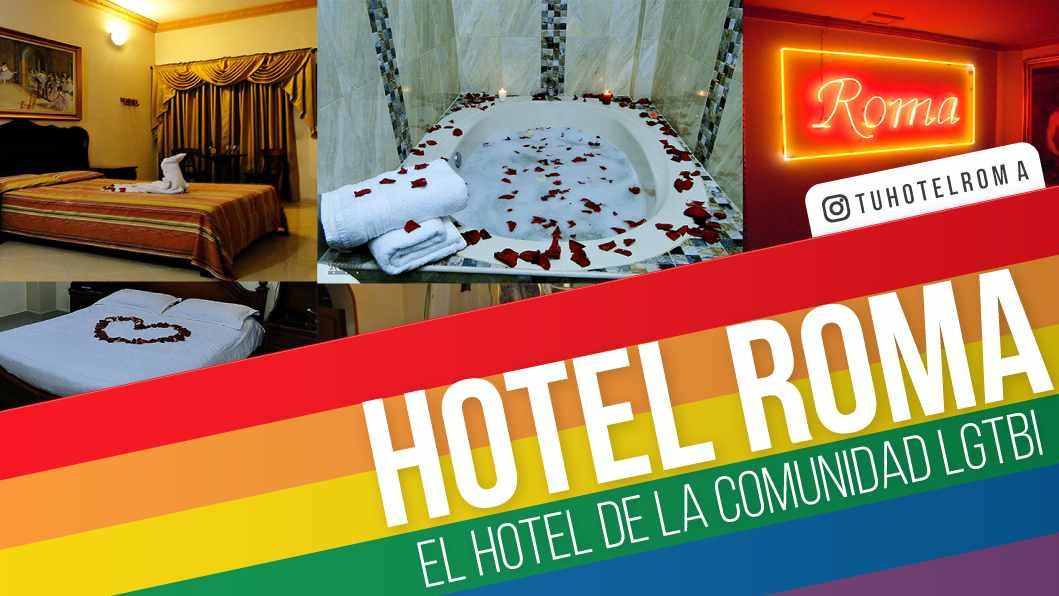 Hotel Roma is a romantic and discrete gay hotel in Medellin, Colombia