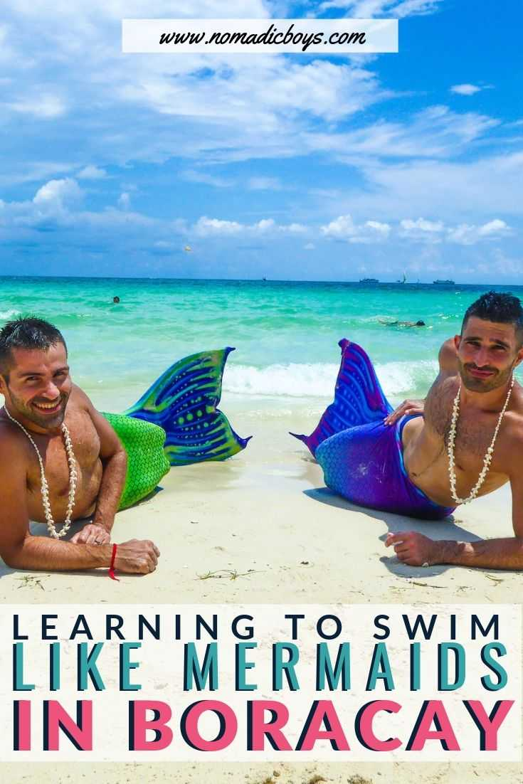 Ever wanted to become a mermaid? Learn how we achieved this dream on Boracay in the Philippines.