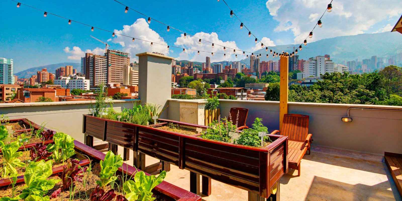 For comfort and fun on a budget, stay at the Los Patios Hostal Boutique in Medellin