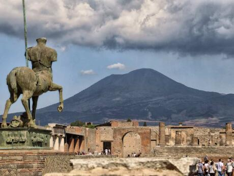 Visiting the preserved city of Pompeii from the Amalfi Coast gives a fascinating insight into ancient Roman life