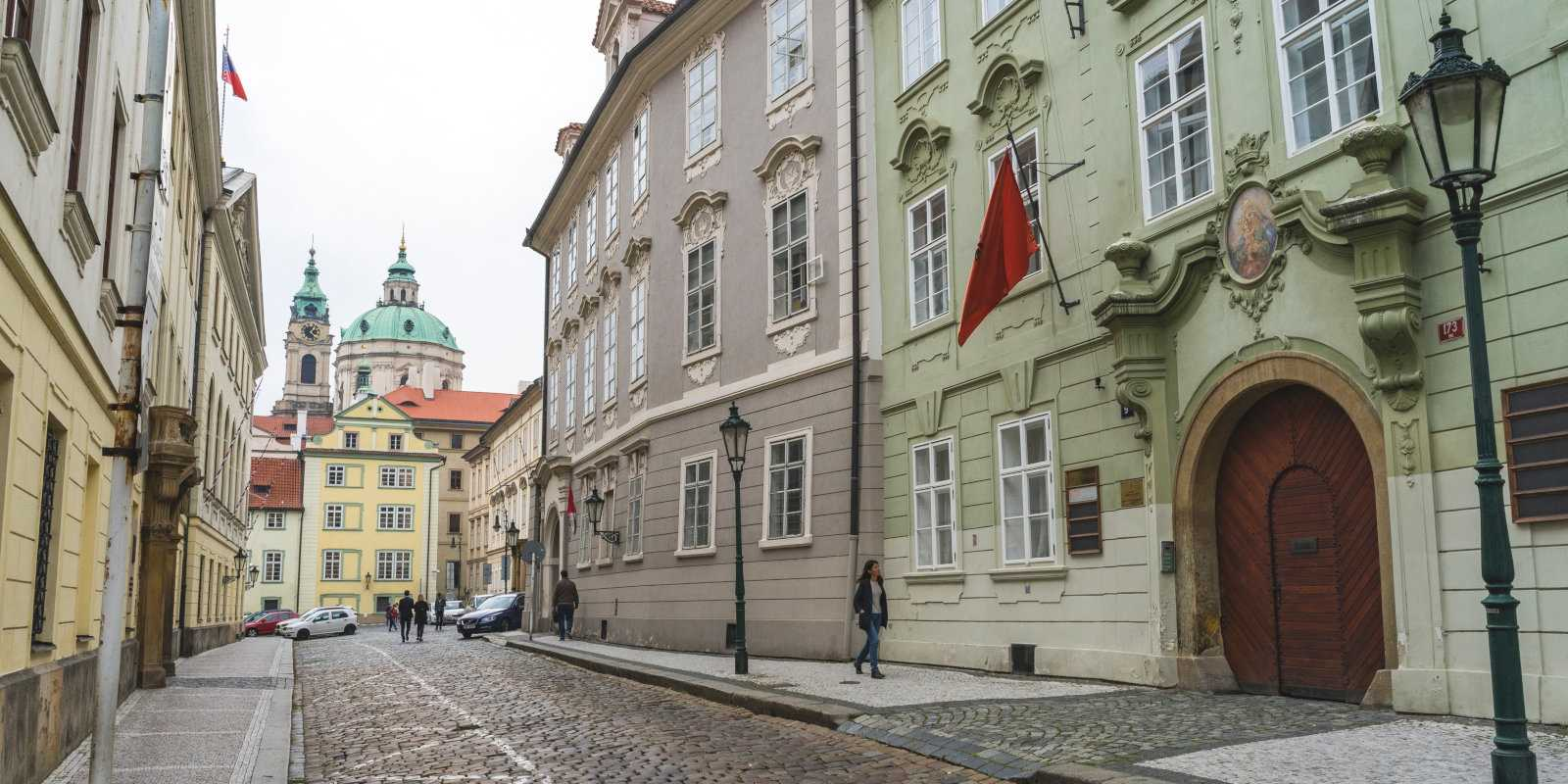 Prague's historic streets are pretty but not the easiest for driving your own or a hired car.