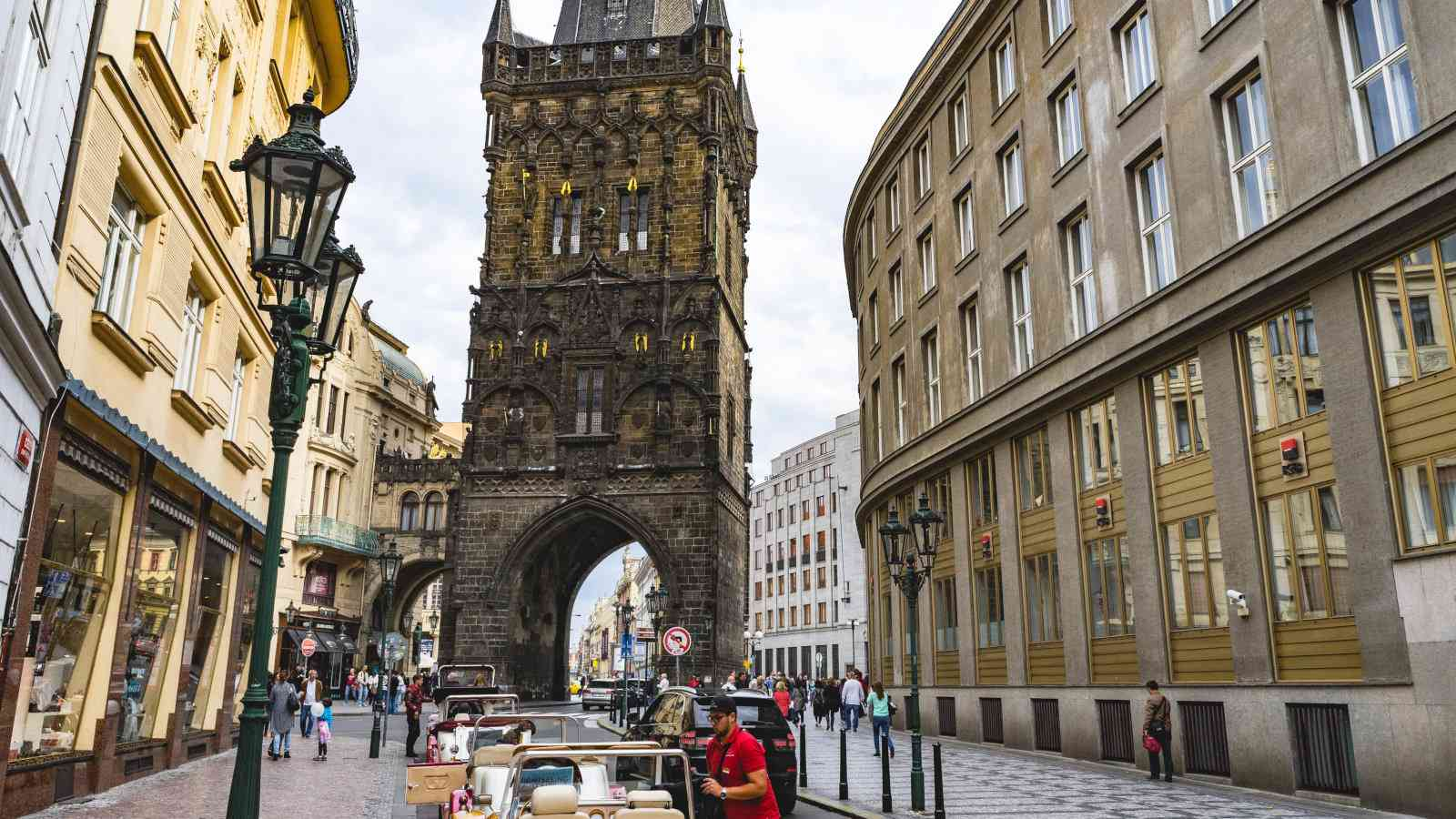 Prague is infamous for dodgy taxis so make sure you only use an official company or even Uber.