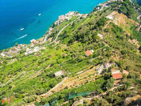 For stunning villas and gardens combined with incredible views, visit Ravello on the Amalfi Coast