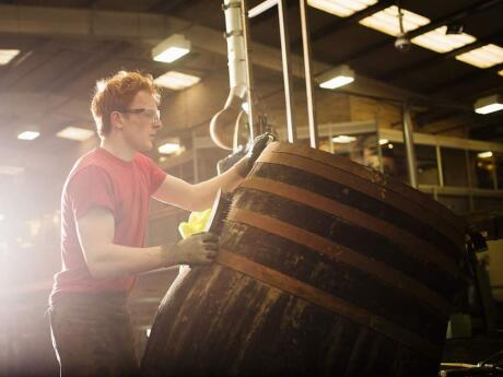 One of the coolest things to do in the Scottish Highlands is try some whiskey at a local distillery