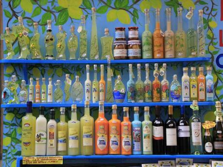 Trying Limoncello is a must do for all travellers to the Amalfi Coast