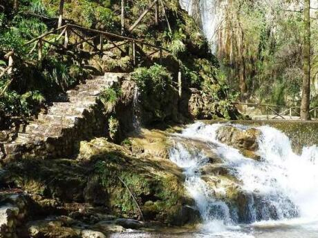 Head inland from Amalfi for a very scenic hike to the waterfalls of Valle delle Ferriere