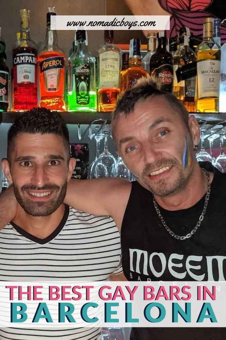 Find out our personal picks for the best gay bars in Barcelona
