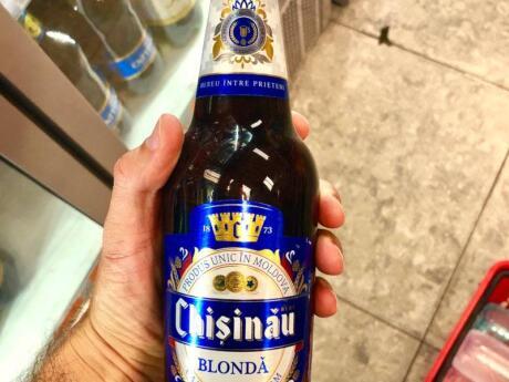 Pendant que vous êtes en Moldavie, essayez une bière Chisinau, en particulier notre préférée, la variété blonda