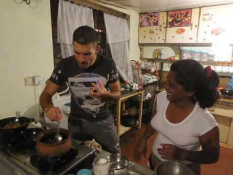 Learn how to make Sri Lankan food at a traditional homestay