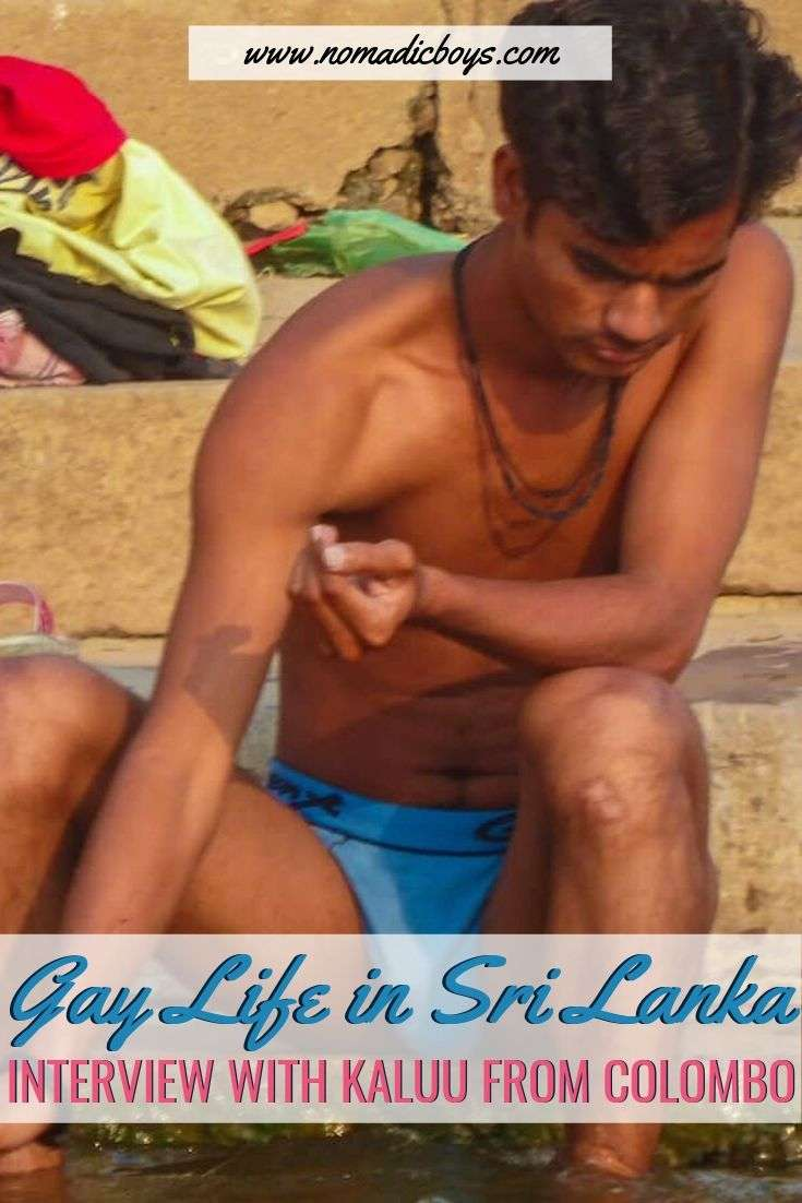 Find out what it's like to grow up gay in Sri Lanka in our interview with a local