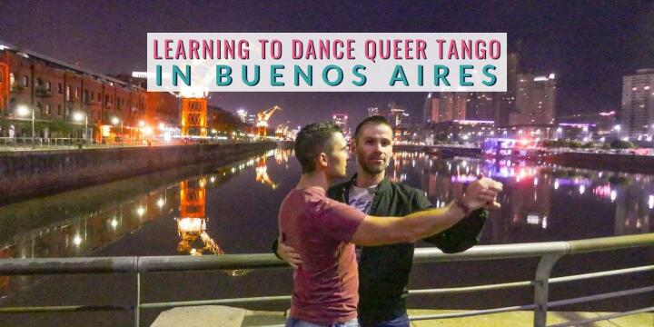 Find out what it's like learning to dance Queer Tango in Buenos Aires