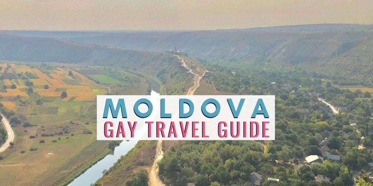 Find out all the tips and tricks for visiting Moldova as a gay traveller with our guide