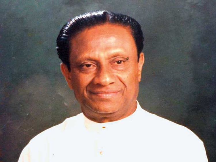 President Ranasinghe Premadasa assassinated during the Sri Lanka Civil War