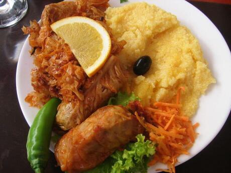Moldovan Mamaliguta is a type of polenta often eaten as an accompaniment to a main dish