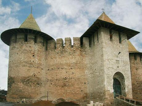 Soroca Fort in Moldova is a very cute fortress with rounded towers and turrets that look like wizard hats!