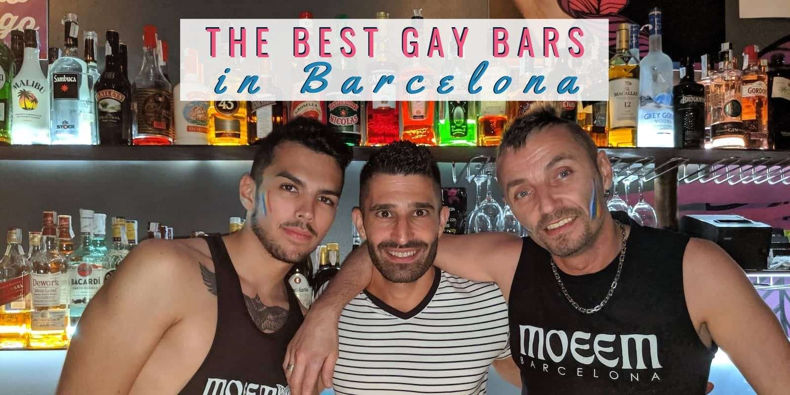 gay bars barcelona best