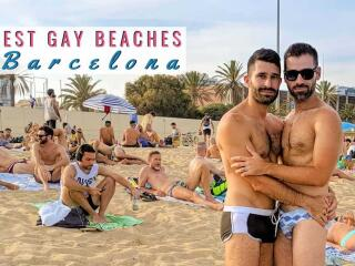 Our guide to the best gay beaches in Barcelona for relaxing and showing off those sexy speedos!