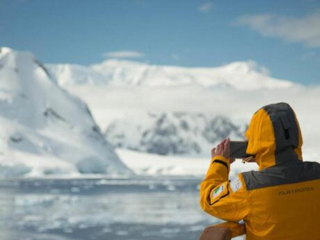 Experience Antarctica as part of a gay cruise from Argentina with Out Adventures