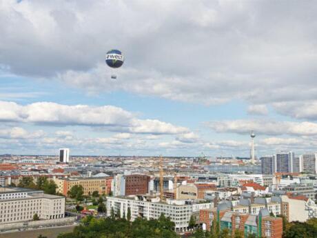 Veja Berlim de uma perspectiva única no Balão Mundial