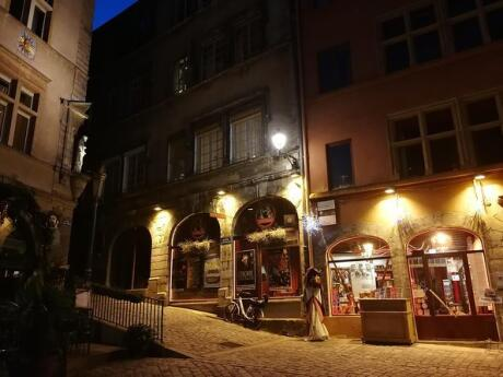 Explore Lyon in a unique way by joining a dark Lyon night-time tour!