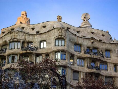 Casa Mila is another one of Gaudi's masterpieces that you shouldn't miss while in Barcelona