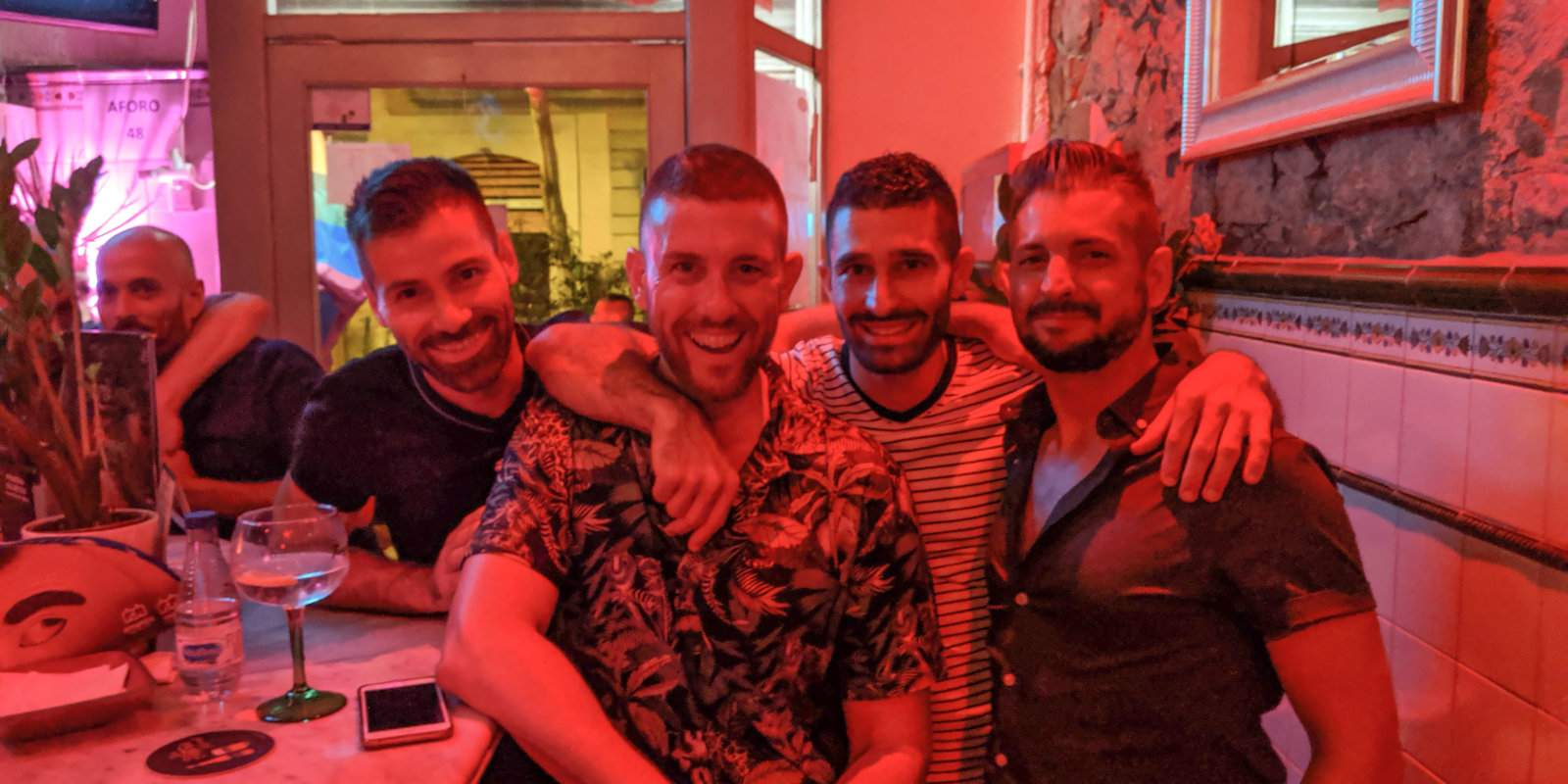 Botanic one of the best gay bars in Barcelona